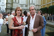 Jane Asher and Gerald Scarfe, Hockney on Turner Watercolours, Tate Britain  Clore Galleries. London. 12 June 2007.  -DO NOT ARCHIVE-© Copyright Photograph by Dafydd Jones. 248 Clapham Rd. London SW9 0PZ. Tel 0207 820 0771. www.dafjones.com.