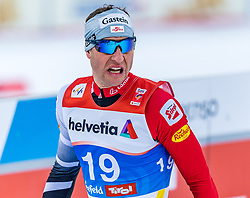 22.02.2019, Seefeld, AUT, FIS Weltmeisterschaften Ski Nordisch, Seefeld 2019, Nordische Kombination, Langlauf, im Bild Bernhard Gruber (AUT) // Bernhard Gruber of Austria during the Cross Country Competition of Nordic Combined for the FIS Nordic Ski World Championships 2019. Seefeld, Austria on 2019/02/22. EXPA Pictures © 2019, PhotoCredit: EXPA/ Stefan Adelsberger