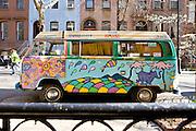 New York City: Hippie Bus, West Village
