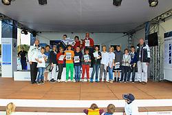 , BMW Sailing Cup Berlin Wannsee 20. - 22.09.2012, OPTI Siegerehrung A