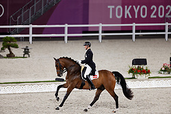 TOKYO - Olympische Spiele / Olympic Games 2021<br /> <br /> BACHER Florian (AUT), Fidertraum<br /> Grand Prix de Dressage<br /> <br /> Tokio, Equestrian Park<br /> 25. July 2021<br /> © www.sportfotos-lafrentz.de/Dirk Caremans