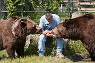 Otisville, New York - Animals at the Orphaned Wildlife Center  on Aug.19, 2017.