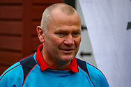 Woking Manager Alan Dowson before the The FA Cup 3rd round match between Woking and Watford at the Kingfield Stadium, Woking, United Kingdom on 6 January 2019.