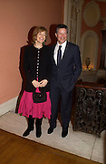 Mr. and Mrs Peter Soros. andrew Roberts and Leonie Frieda celebrate the publication of Andrew's 'Waterloo: Napoleon's Last Gamble' and the paperback of Leonie's 'Catherine de Medic'i. English-Speaking Union, Dartmouth House. London. 8 February 2005. ONE TIME USE ONLY - DO NOT ARCHIVE  © Copyright Photograph by Dafydd Jones 66 Stockwell Park Rd. London SW9 0DA Tel 020 7733 0108 www.dafjones.com