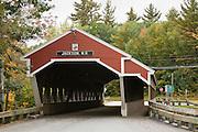 Restored covered bridge in Jackson NH.