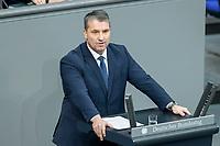 13 FEB 2020, BERLIN/GERMANY:<br /> Martin Hess, MdB, AfD, Sitzung des Deutsche Bundestages, Plenum, Reichstagsgebaeude<br /> IMAGE: 20200213-01-046