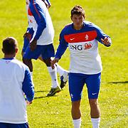 NLD/Katwijk/20100831 - Training Nederlands Elftal kwalificatie EK 2012, Klaas Jan Huntelaar