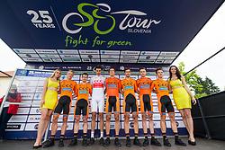Team CCC Sprandi Polkowice prior to 1st Stage of 25th Tour de Slovenie 2018 cycling race between Lendava and Murska Sobota (159 km), on June 13, 2018 in  Slovenia. Photo by Matic Klansek Velej / Sportida