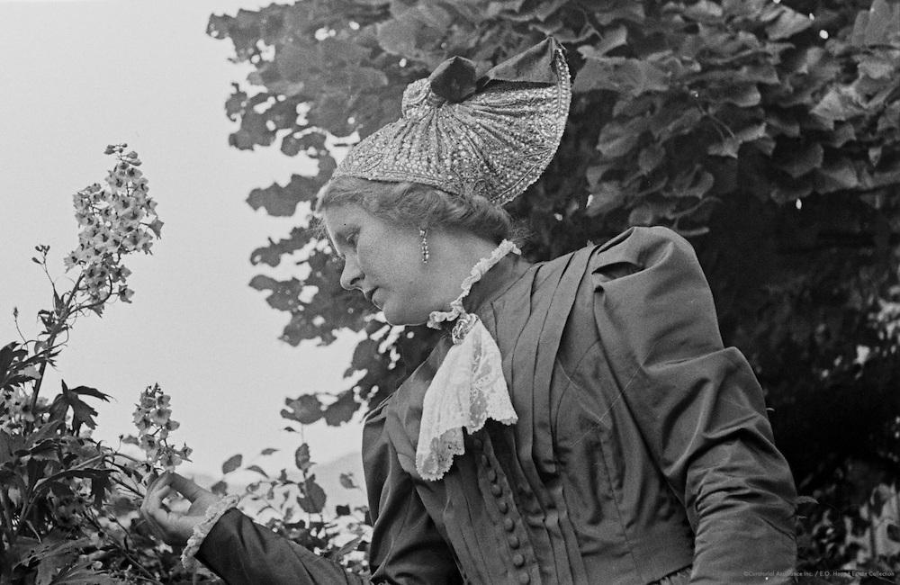 Frau Maria Stalzer in traditional costume, Austria, 1938