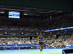 August 29, 2018 - Flushing Meadow, NY, U.S. - FLUSHING MEADOW, NY - AUGUST 29:   Fans fill Arthur Ashe Stadium for the 2nd round men's singles match between and Rafael Nadal and Vasek Pospisil (CAN) during the US Open during the US Open on August 29, 2018, played at the Billie Jean King Tennis Center, Flushing Meadow, NY.  (Photo by Cynthia Lum/Icon Sportswire) (Credit Image: © Cynthia Lum/Icon SMI via ZUMA Press)