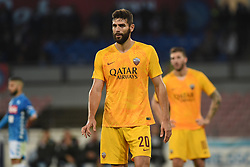 October 28, 2018 - Naples, Naples, Italy - Federico Fazio of AS Roma during the Serie A TIM match between SSC Napoli and AS Roma at Stadio San Paolo Naples Italy on 28 October 2018. (Credit Image: © Franco Romano/NurPhoto via ZUMA Press)