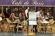 France, Paris, Saint Germain-des-Pres, cafe