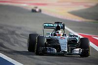 44 HAMILTON lewis (gbr) mercedes gp mgp w06 action during 2015 Formula 1 FIA world championship, Bahrain Grand Prix, at Sakhir from April 16 to 19th. Photo Clément Marin / DPPI