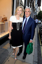 SIR RONALD & LADY COHEN at a party to celebrate the publication of Sashenka by Simon Sebag-Montefiore held at Asprey, Bond Street, London on 1st July 2008.<br /><br />NON EXCLUSIVE - WORLD RIGHTS