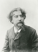 'Alphonse Daudet (1840-1897) French novelist, playwright and poet.'