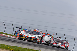 May 6, 2018 - Lexington, Ohio, United States of America - The Acura Team Penske Acura car races through the keyhole turn during the the Acura Sports Car Challenge at Mid Ohio Sports Car Course in Lexington, Ohio. (Credit Image: © Walter G Arce Sr Asp Inc/ASP via ZUMA Wire)