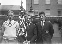 H528<br /> Tailteann Games. American Athletes. 1924.  (Part of the Independent Newspapers Ireland/NLI Collection)