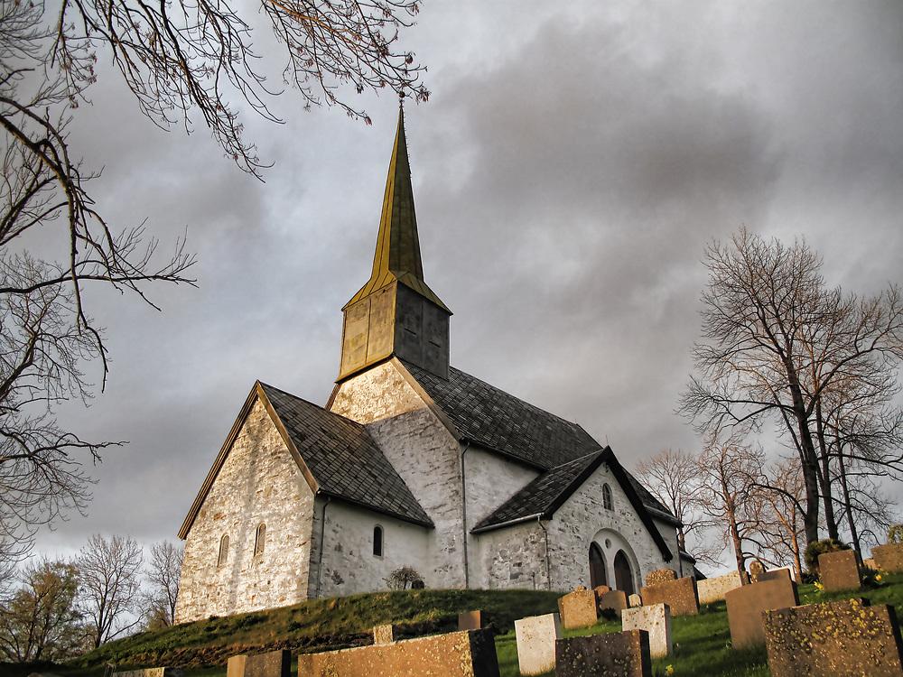 Alstadhaug kirke på Skogn i Levanger og Sør-Innherad prosti er en steinkirke fra 1100-tallet.