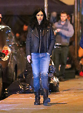 Krysten Ritter was on the set of the TV show 'Jessica Jones' - 19 Nov 2018
