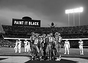 Oakland Raiders vs KC Chiefs in Oakland Coliseum.