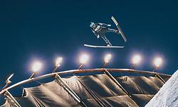 01.03.2020, Salpausselkae Hill, Lahti, FIN, FIS Weltcup Ski Sprung, Herren, im Bild Michael Hayboeck (AUT) // Michael Hayboeck of Austria during the men's ski jumping competition of FIS Ski Jumping World Cup at the Salpausselkae Hill in Lahti, Finland on 2020/03/01. EXPA Pictures © 2020, PhotoCredit: EXPA/ JFK