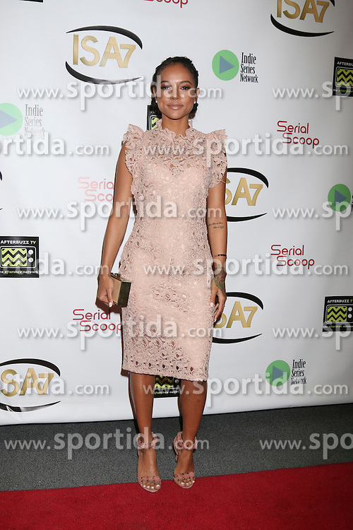 Karrueche Tran at the 7th Annual Indie Series Awards at the El Portal Theater on April 6, 2016 in North Hollywood, CA. EXPA Pictures © 2016, PhotoCredit: EXPA/ Photoshot/ Kerry Wayne<br /> <br /> *****ATTENTION - for AUT, SLO, CRO, SRB, BIH, MAZ, SUI only*****