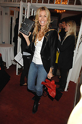 MELISSA ODABASH at the Grand Classics screening of the film 'Don't Look Now' sponsored by Motorola held at The Electric Cinema, 181 Portobello Road, London W11 on 24th September 2007. <br /><br />NON EXCLUSIVE - WORLD RIGHTS