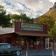 Portal is an unincorporated community in Cochise County, Arizona, United States. It lies 25 miles south-southeast of San Simon and at the mouth of Cave Creek Canyon on the east side of the Chiricahua Mountains.<br /> <br /> Photography by Jill Richards