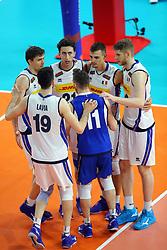 L'ITALIA ESULTA<br /> ITALIA - ARGENTINA<br /> PALLAVOLO VNL VOLLEYBALL NATIONS LEAGUE 2019<br /> MILANO 22-06-2019<br /> FOTO GALBIATI -  RUBIN