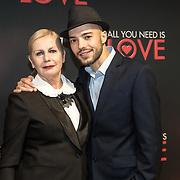 NLD/Amsterdam/20181126 - premiere All You Need Is Love, Trudy Labij en Ilias Addab