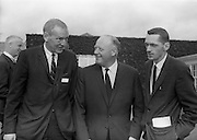 8/9/1964<br /> 9/8/1964<br /> 8 September 1964<br /> <br /> Mr. Charles P. Davis of the Journal of Commerce, Mr. Joe Headon the Manging Dirctor of Urney Choclates and Mr.  Joe Sullivan of the Boston Herald Traveller