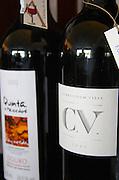 Wine shop. Curriculum Vitae 2003 and Quinta de Hacedos, Douro. Lisbon, Portugal