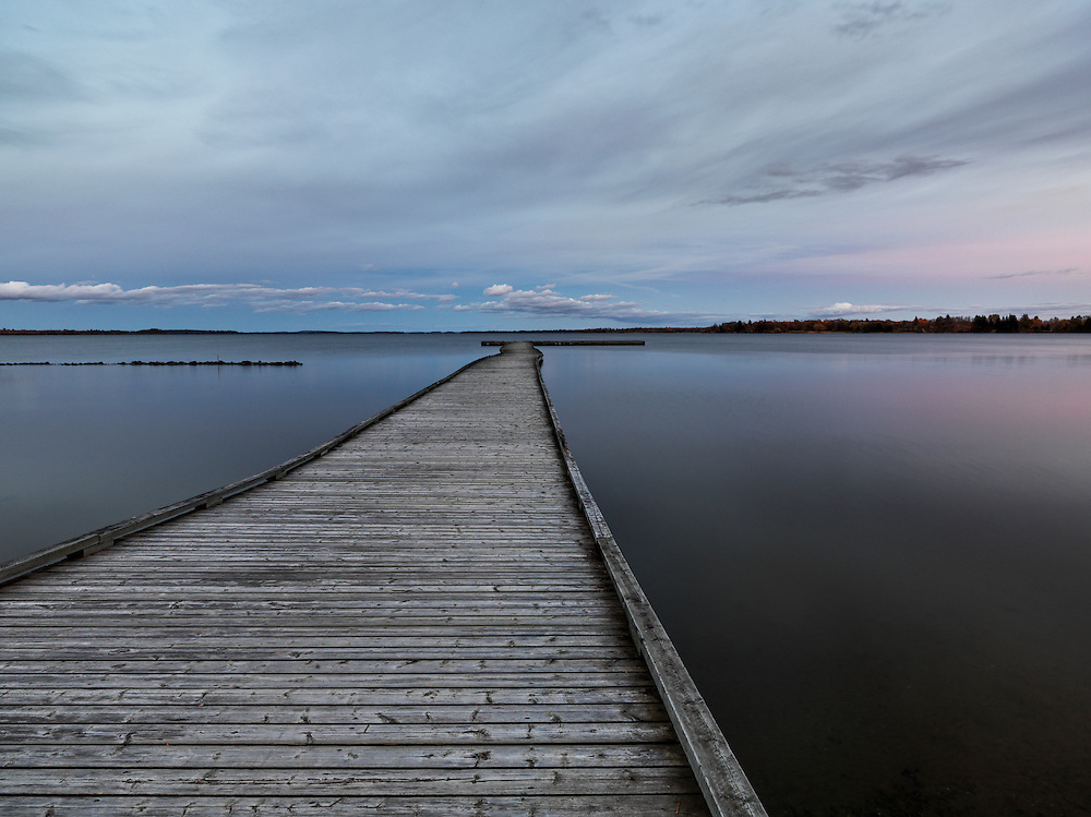 Limited Editions of 8<br /> Fort Frances Dock near International Falls Ontario near the US Border