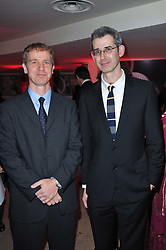 Left to right, Costa ChildrenÕs Book Award Winner 2010<br /> JASON WALLACE Ð Out of Shadows and Costa Biography Award Winner 2010 EDMUND DE WAAL Ð The Hare With Amber Eyes, at the Costa Book Awards 2010 held at Quaglino's, 16 Bury Street, London on 25th January 2011.<br /> Left to right, Costa Children's Book Award Winner 2010<br /> JASON WALLACE – Out of Shadows and Costa Biography Award Winner 2010 EDMUND DE WAAL – The Hare With Amber Eyes, at the Costa Book Awards 2010 held at Quaglino's, 16 Bury Street, London on 25th January 2011.