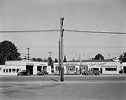 Ackroyd 00017-45. Frank Costanzo Automotive, 2221 NE Hoyt (Address actually fronts on NE Sandy & 22nd, presently the same building houses Brake Systems Inc.) June 15, 1946.
