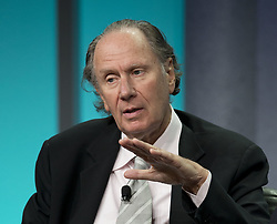 June 14, 2017 - Beverly Hills, CALIFORNIA, USA - Thursday, June 14, 2017. David Bonderman Resigns From Uber Board After Sexist Remark. FILE PHOTO: David Bonderman, Founding Partner, TPG Capital during the Milken Institute Global Conference held Tuesday, April 30, 2013 at the Hilton Hotel in Beverly Hills, California. JAVIER ROJAS/PI (Credit Image: © Prensa Internacional via ZUMA Wire)