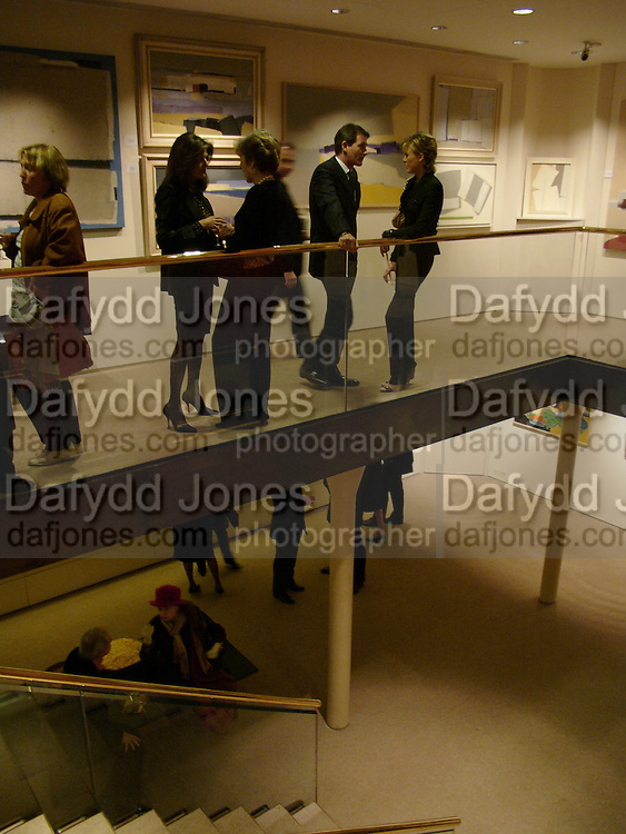 Marina Palma, Jane Churchill, Tim Jefferies and Lady Alexandra Spencer-Churchill. 'The Road to Abtsraction' an exhibition of paintings by Rosita Marlborough. the Fleming Collection. 13 Berkeley St. London W1. 31 March 2005. ONE TIME USE ONLY - DO NOT ARCHIVE  © Copyright Photograph by Dafydd Jones 66 Stockwell Park Rd. London SW9 0DA Tel 020 7733 0108 www.dafjones.com