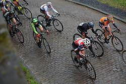 at the 112.8 km Le Samyn des Dames on March 1st 2017, from Quaregnon to Dour, Belgium. (Photo by Sean Robinson/Velofocus)
