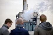 Nederland, Nijmegen, 8-11-2012Ontploffing bij de centrale van Electrabel. Grote schade in het ketelhuis.Foto: Flip Franssen/Hollandse Hoogte