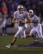 Florida Atlantic quarterback Sean Clayton looks down field agaisnt Kansas State at Bill Snyder Family Stadium in Manhattan, Kansas, September 9, 2006.  The Wildcats beat the Owls 45-0.