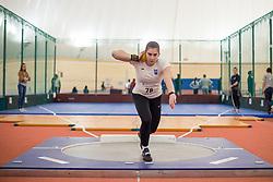 Hana Urankar competes during day 2 of Slovenian Athletics Indoor Championships 2020, on February 23, 2020 in Novo mesto, Slovenia. Photo by Peter Kastelic / Sportida