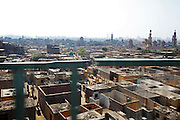 The cemeteries in  Cairo's City of the Dead are the permanent home to maybe u to five million people. Because of the country's chronic housing crisis shortage.