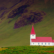 Icelandic church, Vik, Iceland (August 2006)