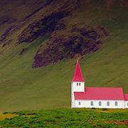 Icelandic church, Vik, Iceland (August 2006)