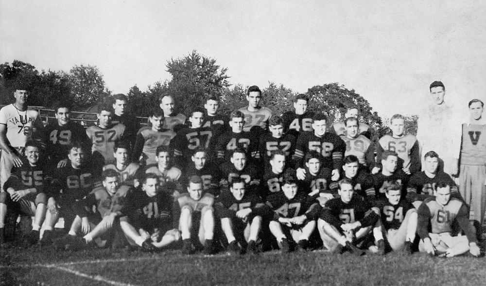 1945 Football<br /> Indiana Collegiate Conference<br /> Regular Season Champion
