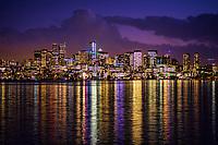 Seattle Twilight, Lake Union