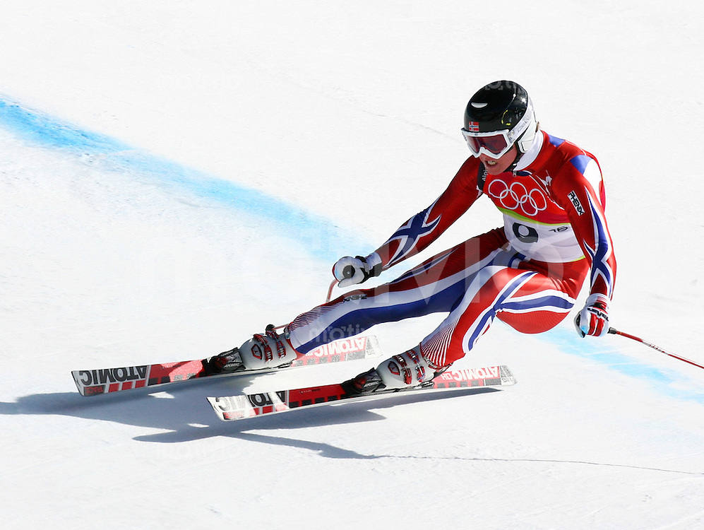 Olympia 20. Olympische Winterspiele 2006 Turin Ski Alpine - Abfahrt Herren Bjarne Soulbakken (NOR)