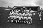 20/03/1963<br /> 03/20/1963<br /> 20 March 1963<br /> Soccer: Transport v Limerick, Cup tie replay at Harold's Cross, Dublin. The Transport team.