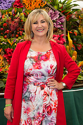 © Licensed to London News Pictures. 19/05/2014. London, England. Opera singer Lesley Garrett attends the Barbados Horticultural Society - The Sailors Valentine Garden. Press Day at the RHS Chelsea Flower Show. On Tuesday, 20 May 2014 the flower show will open its doors to the public.  Photo credit: Bettina Strenske/LNP
