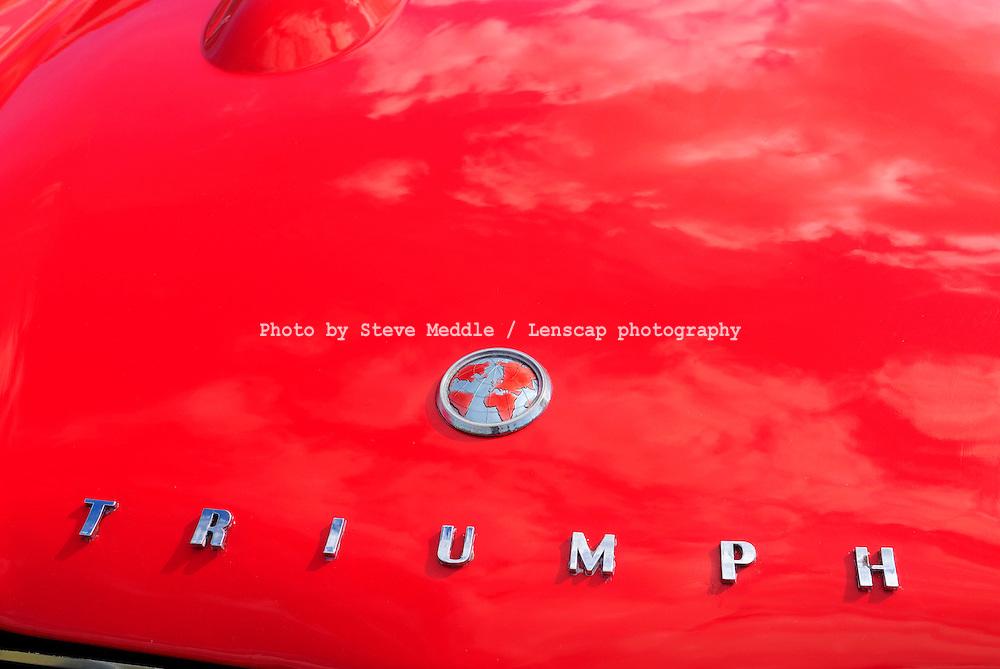 Triumph Car Badge detail - 2010